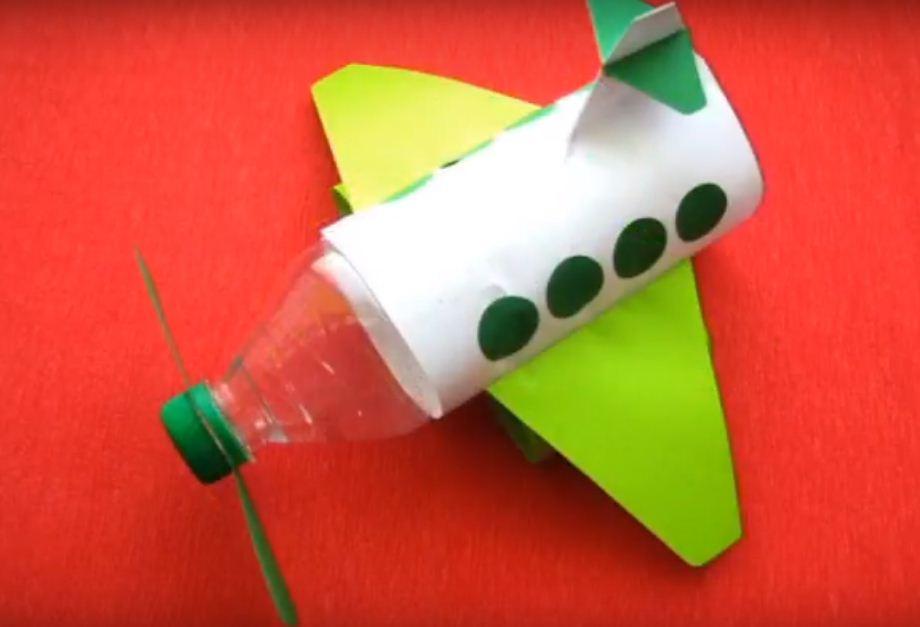 Как сделать из бумаги и бутылки 349