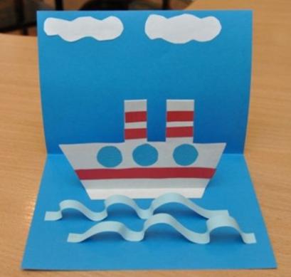 Кораблик в детском саду своими руками 41