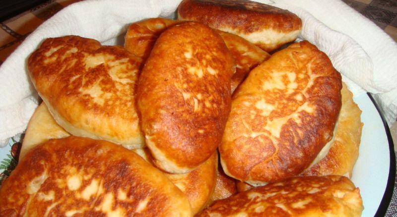 Дрожжевое тесто для жареных пирожков пошагово фото
