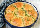 Пампушки с чесноком к борщу — 5 пошаговых рецептов