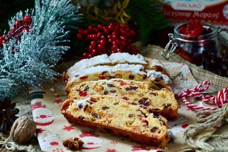 Рождественский штоллен • домашний рецепт. С фото!