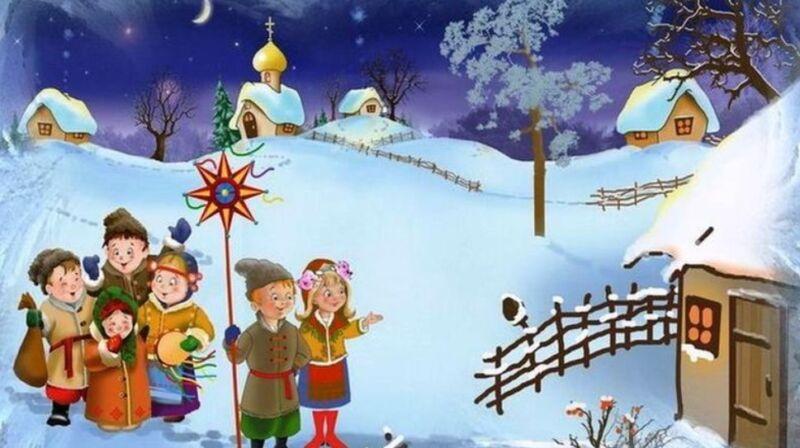 Детские колядки на 13 января на Старый Новый год 2021
